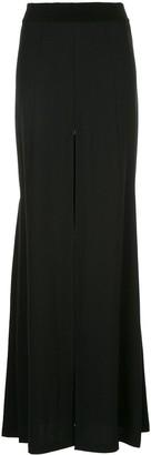 Ann Demeulemeester Long Slit Detail Skirt