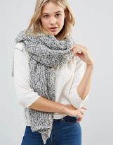 Free People Oversized Chunky Knitted Scarf