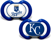 Baby Fanatic Kansas City Royals Pacifier - Set of Two