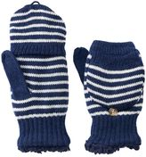 Women's SONOMA Goods for LifeTM Striped Convertible Flip-Top Mittens