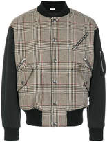 Stella McCartney Checked Wool-blend Bomber Jacket - Brown - Size IT48