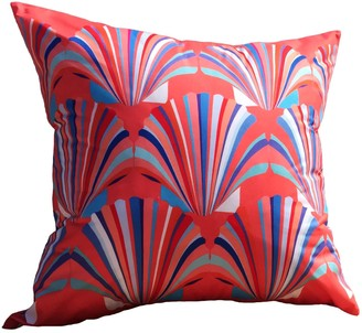 Chloe Croft London Limited Coral Weatherproof Shell Deco Cushion