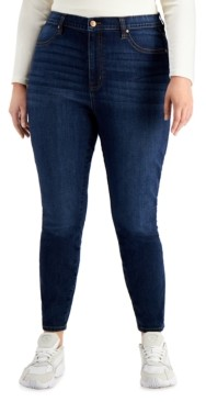 Celebrity Pink Trendy Plus Size High Rise Curvy-Fit Skinny Jeans