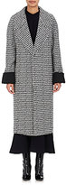 Haider Ackermann WOMEN'S HOUNDSTOOTH WOOL-BLEND LONG COAT
