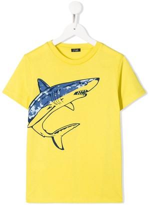 Il Gufo shark print T-shirt