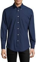 Brooks Brothers Printed Patch Cotton Sportshirt