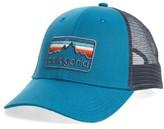 Patagonia Men's Logo Badge Trucker Hat - Blue