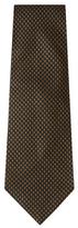Vintage Black Silk Jacquard Tie