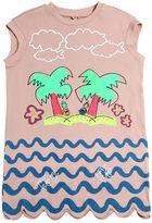 Stella McCartney Island Print Organic Cotton Jersey Dress