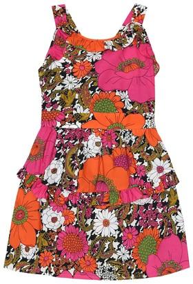 Gucci Kids Floral cotton dress