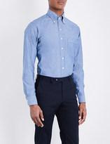 Drakes Regular-fit chambray shirt