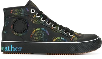 Stella McCartney We Are The Weather high-top sneakers