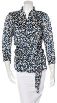 Isabel Marant Printed Wrap Top w/ Tags