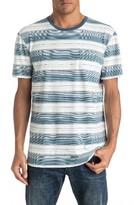 Quiksilver Men's Pedry Dano Stripe Pocket T-Shirt