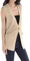 Cullen Linen Knit Vest (For Women)