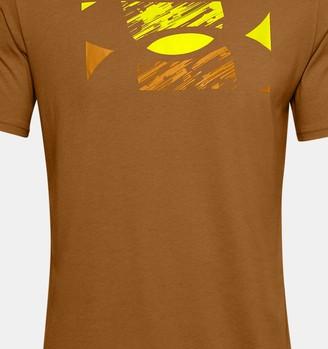 Under Armour Men's UA Big Logo Sketch Short Sleeve
