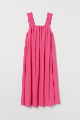 H&M Bow-detail A-line dress