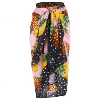 Dolce & Gabbana Multicolour Cotton Swimwear