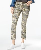True Religion Vintage Camo Wash Skinny Jeans