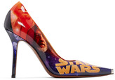 Vetements Multicolor STAR WARS Edition Movie Poster Heels