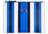 Karen Millen Bold Stripe Clutch - Blue/multi