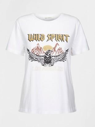 Sofie Schnoor White Eagle Tee Shirt - XS | white - White/White