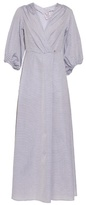 Thierry Colson Phoebe bell-sleeved cotton dress