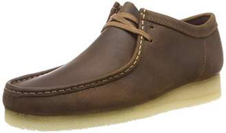 Clarks Wallabee, Men's Derby Derbys, (Beeswax Leather), (41 EU)