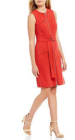 Antonio Melani Twiggy Sateen Shift Dress