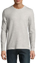 Selected Textured Knit Long-Sleeve Top