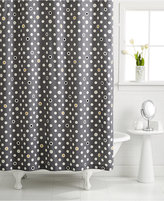 Martha Stewart Collection CLOSEOUT! Whim by Collection Pop Dot Shower Curtain