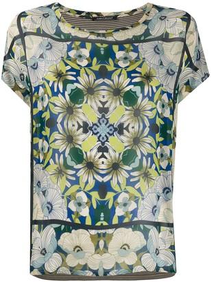 Luisa Cerano floral print T-shirt