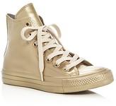 Converse Chuck Taylor All Star Metallic Rubber High Top Sneakers