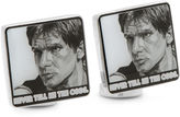 Star Wars STARWARS Hans Solo Never Tell Me The Odds Cuff Links