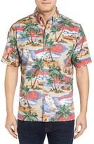 Reyn Spooner Men's Hawaiian Christmas Shirt