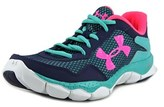Under Armour Ua Ggs Engage Ii Bl Round Toe Synthetic Basketball Shoe.