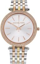 Michael Kors Darci 39mm Crystal Dial Mixed Metal Bracelet Watch