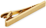 Dunhill Grid Gold-Plated Tie Bar