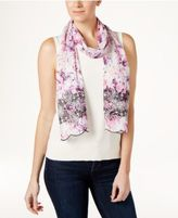 INC International Concepts Eyelet Floral Skinny Scarf, Only at Macy's