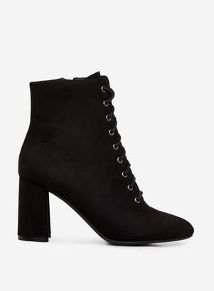 Dorothy Perkins Womens Black 'Aqua' Lace Up Ankle Boots, Black