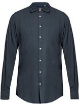Massimo Alba Long-sleeved cotton-blend shirt
