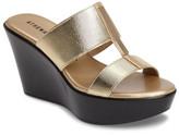 Athena Alexander Mocha Platform Wedge Sandal (Women)