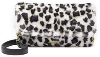 Betsey Johnson LUV BETSEY BY Jayla Faux Fur Crossbody Bag