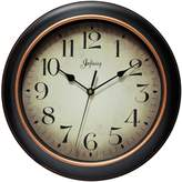 Infinity Instruments Precedent Silent Sweep 12 inch Wall Clock