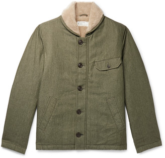 Universal Works N1 Fleece-Lined Cotton-Twill Jacket