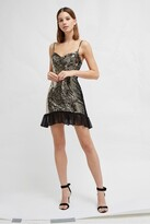 French Connection Briellare Embellished Mini Dress