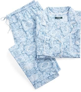 Ralph Lauren Print Jersey Sleep Set