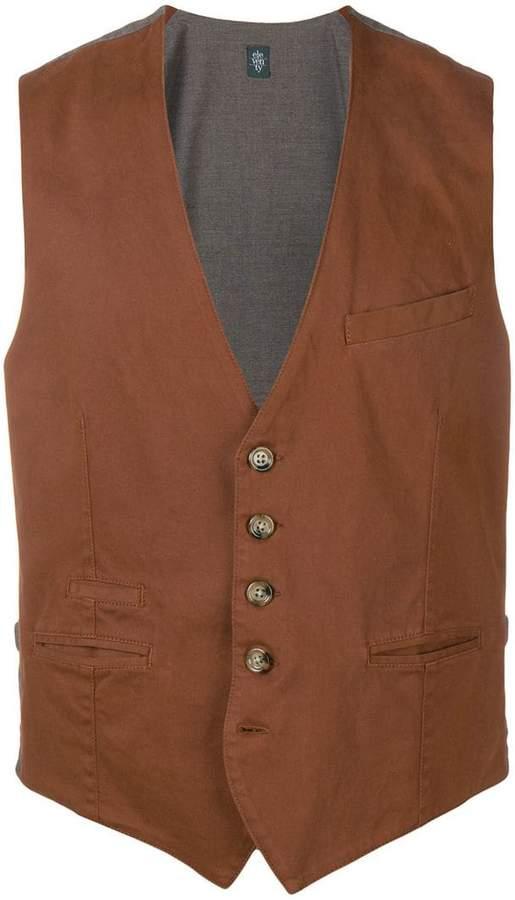 Eleventy two-tone waistcoat