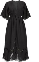 Rhode Resort Liam Cotton Midi Dress