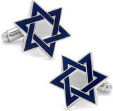 Asstd National Brand Blue Star of David Cufflinks
